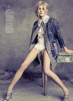 Marie Claire 'glam dandy' I Ph:: Tesh