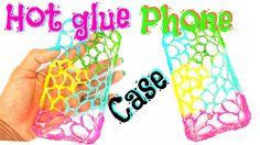 DIY crafts: HOT GLUE PHONE CASE - PaperCrafts