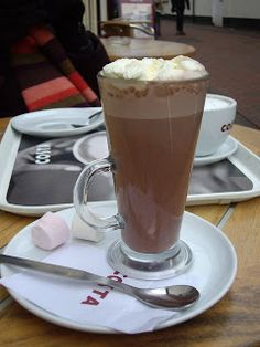 Costa Coffee + Hot Chocolate = Heaven!