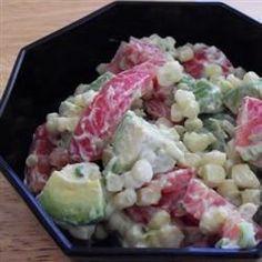 Creamy Corn Salad--fast and yummy!
