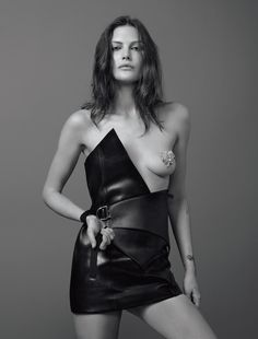 L'INDOMPTABLE PHOTOGRAPHER: JEAN-BAPTISTE MONDINO MODEL: CATHERINE McNEIL STYLING: BABETH DJIAN HAIR: VALENTIN MORDACQ MAKE UP: KARIM RAHMAN