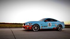 Jason B.'s S550 GT is sporting a very unique Gulf Racing Livery! This killer look was completely done in dip!