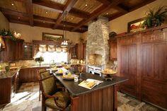 Beautiful kitchen at