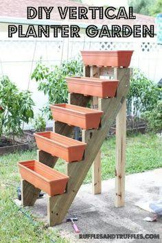 DIY Vertical Gardening
