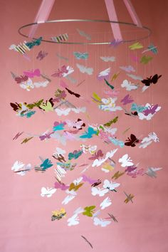FREE Shipping - The Brooke Butterfly Mobile - M2M Pottery Barn Kids Brooke Bedding
