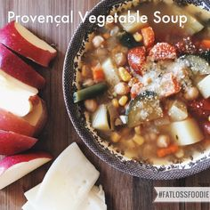 """Whenever I'm in a food funk and ready to get out of it, I go straight to my cookbooks, especially the French ones. I cracked open Dorie Greenspan's """"Around My French Table"""" and within minutes,was marking recipes left and right - including this one for Provencal Vegetable Soup. It's a clas"""