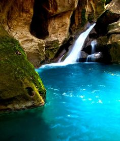 Bassin Bleu, Haiti . Can't belive this is only 2 hrs from were I live and I have never been there !! Shame on me