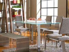 Slim Dining Table with Arcane Chairs