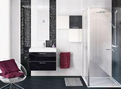 salle de bain fushia et noir - Salle De Bain Gris Et Fushia
