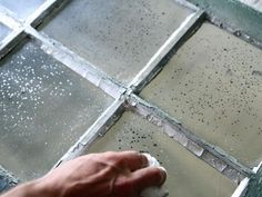 The experts at HGTV.com share easy instructions on how to upcycle an old window with a mercury glass finish.