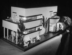 an art deco doll house by f.a.o. schwarz, 1940