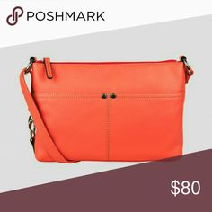BRAND NEW Tignanello crossbody bag Brand new crossbody. Color is strawberry. RFID protection for credit card slots. Tignanello Bags Crossbody Bags