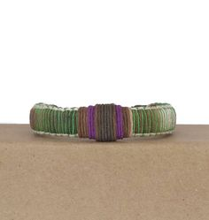 Green bracelet for men / adjustable bracelets / casual bracelets / hemp cord bracelets for men / design men's jewelry / casual bracelet by BanSisDesignJewelry on Etsy https://www.etsy.com/listing/487978167/green-bracelet-for-men-adjustable