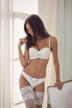 Reger by Janet Reger multiway bra and brazillian bridal set