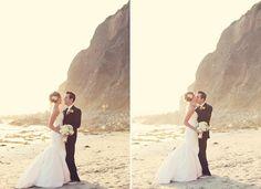 Beach Wedding Photo  [ Waterbabiesbikini.com ] #beach #bikini #elegance