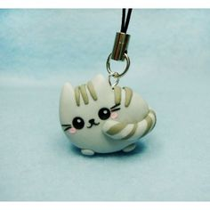 Pusheen,keycahin,mobile accessories, cat,gato,kawaii,pet,mascota,