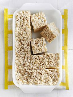 Brown Butter Crispy Treats - Country Living