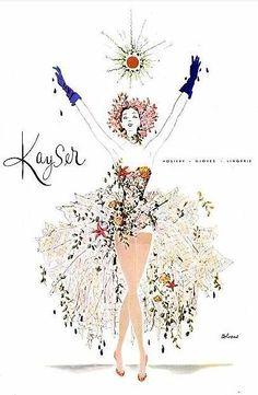 Kayser Hosiery, Gloves, Lingerie — 1951.
