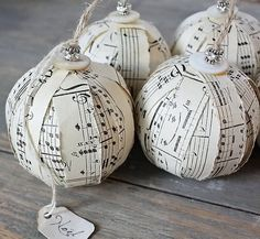 DIY christmas decoration this would be great in my music room