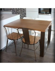 Mesa Roma -Tarragona, medidas especiales Dining Table, Club, Kitchen, Furniture, Home Decor, Vintage Furniture, Industrial Style, Awesome, Dining Room