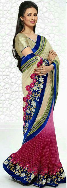 divyanka tripathi in saree yeh hai mohabbatein Collection Eid, Wedding Saree Collection, Trendy Sarees, Fancy Sarees, Pakistani Outfits, Indian Outfits, Asian Wedding Dress, Latest Designer Sarees, Dress Neck Designs