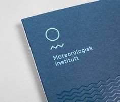 Meteorologisk institutt — Neue — New, relevant & remarkable — Designspiration