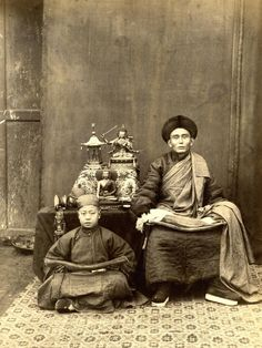 Thomas Child. No. 192 Mongolian Lama. 1870s. Albumen silver print. Students connect with early technology.