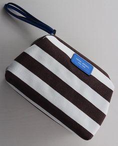 Henri Bendel Signature Stripe Canvas Dopp Kit $15.00
