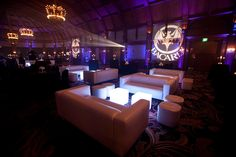 Lounge Appeal, full service event rentals offered throughout California, Arizona and Nevada, Search By Color Option Dark Lounge, Hotel Del Coronado, Bacardi, Event Photos, Nevada, California, Chandeliers, Reception Ideas, Logo