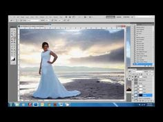 | YouTube - Photographer Overnight | PS | How to Add a Sky with layers and mask |