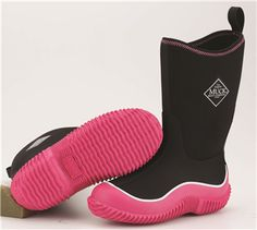 Kids hale boots are perfect for wearing outdoors in any weather. The Original Muck Boot CompanyⓇ has a great selection of kids hale boots; Kids Muck Boots, Rain Boots, Muck Boot Company, Stylish Boots, Black Neon, Designer Boots, Ugg Boots, Kids Girls, Girls Shoes