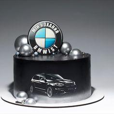 40th Birthday Cakes For Men, Cute Birthday Cakes, Beautiful Birthday Cakes, Cake Decorating Frosting, Cake Decorating Designs, Cake Decorating Techniques, Funny Wedding Cakes, Wedding Cakes With Cupcakes, Cars Theme Cake