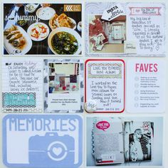 Project Life Week 1 - right side - Scrapbook.com
