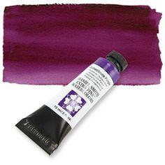 Quinacridone Purple (PV 55) 15ml Tube, DANIEL SMITH Extra Fine Watercolor