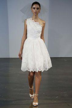 Fresco romance: vestidos de novia primavera 2014 de Marchesa