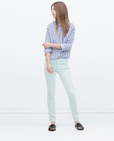 FIVE-POCKET TROUSERS-View all-Trousers-WOMAN | ZARA United States
