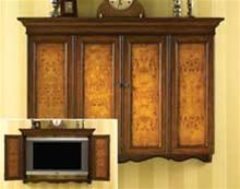 Image Detail For Burled Wood Flat Screen Tv Wall Cabinet Home Kaboodle