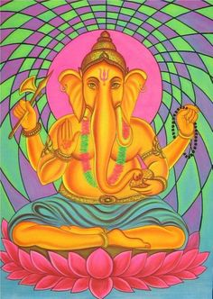 Psychedelic Experience. Psychedelic Experience, Ganesha Art, New Beginnings, Art Forms, Mythology, Disney Characters, Fictional Characters, Aurora Sleeping Beauty, Elephant