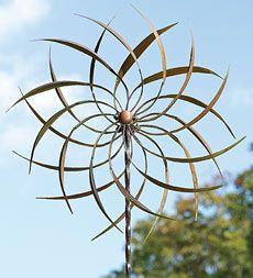 Wind Art > This looks like the sculpture I drool over every year at the Flint Art Fair. ♦๏~✿✿✿~☼๏♥๏花✨✿写☆☀🌸🌿🎄🎄🎄❁~⊱✿ღ~❥༺♡༻🌺<SU Feb ♥⛩⚘☮️ ❋ Wind Sculptures, Art Sculpture, Garden Sculpture, Metal Yard Art, Metal Art, Kinetic Art, Wedding Art, Garden Ornaments, Art Store
