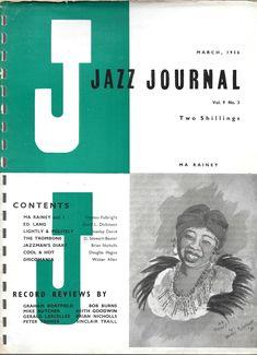 Jazz Journal, March 1956. (Ma Rainey)
