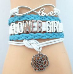 Love Blue Wedding Bracelets