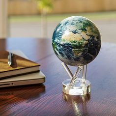 Earth Spinning Globe | ThinkGeek