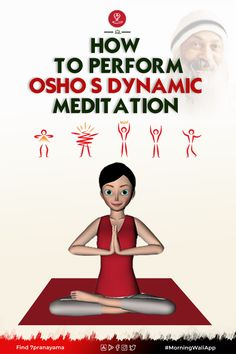 "Dynamic Meditation practice is exactly like the word dynamic- Full of Energy and New Ideas. In a world full of enormous meditation practices, Dynamic Meditation is a different one. The spiritual leader Osho has introduced this meditation practice under ""Rajneesh Dhyan Yoga."""