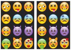 Emoji Stickers – Birthday Printable