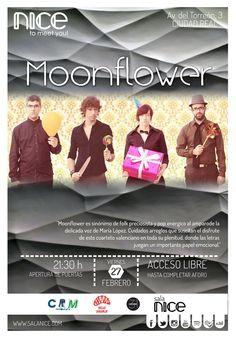 31Canciones presenta a Moonflower en Sala Nice (Ciudad Real)