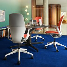 """Your imagination has no limits with the variety of material combinations available for SILQ. This """"surf shop"""" inspired version of SILQ fits people who want to express an optimistic, fresh and spontaneous personality. Surf Shop, Innovation, This Is Us, Office Chairs, Imagination, Table, Personality, Inspiration, Fresh"""