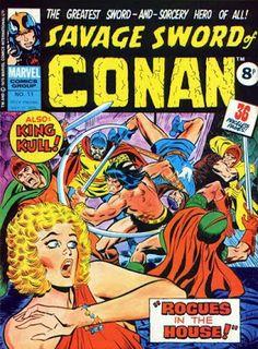Marvel UK, Savage Sword of Conan #11