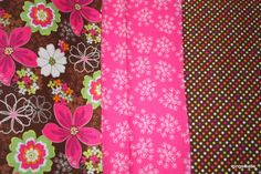 Hand Picked Fat Quarter Bundle  Flowers and by OlinasCraftBoutique, £10.50