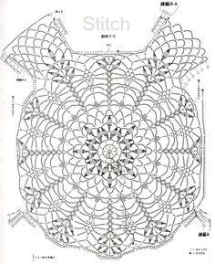 Fabulous Crochet a Little Black Crochet Dress Ideas. Georgeous Crochet a Little Black Crochet Dress Ideas. T-shirt Au Crochet, Gilet Crochet, Mode Crochet, Crochet Motifs, Crochet Diagram, Crochet Woman, Crochet Cardigan, Crochet Doilies, Crochet Stitches