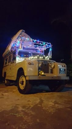 Land Rover Dormobile Christmas